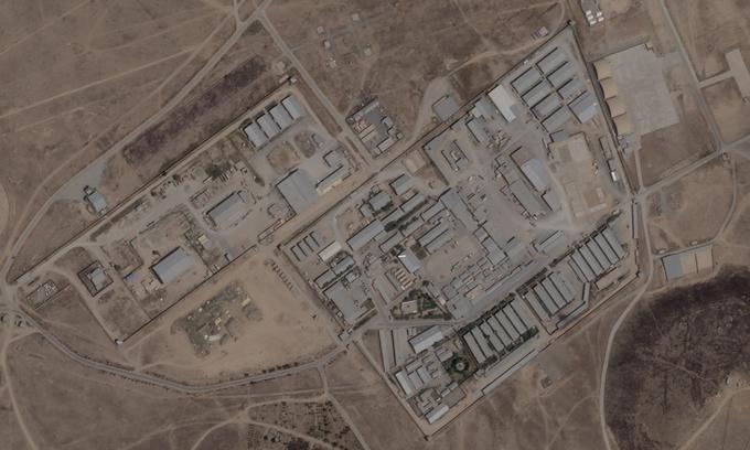 Hình ảnh vệ tinh khu phức hợp bí mật của CIA ở ngoại ô Kabul, Afghanistan hôm 24/8. Ảnh: Planet Labs.