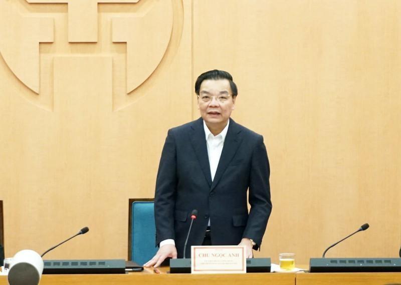Chủ tịch UBND TP Hà Nội Chu Ngọc Anh. (Ảnh: PLO)