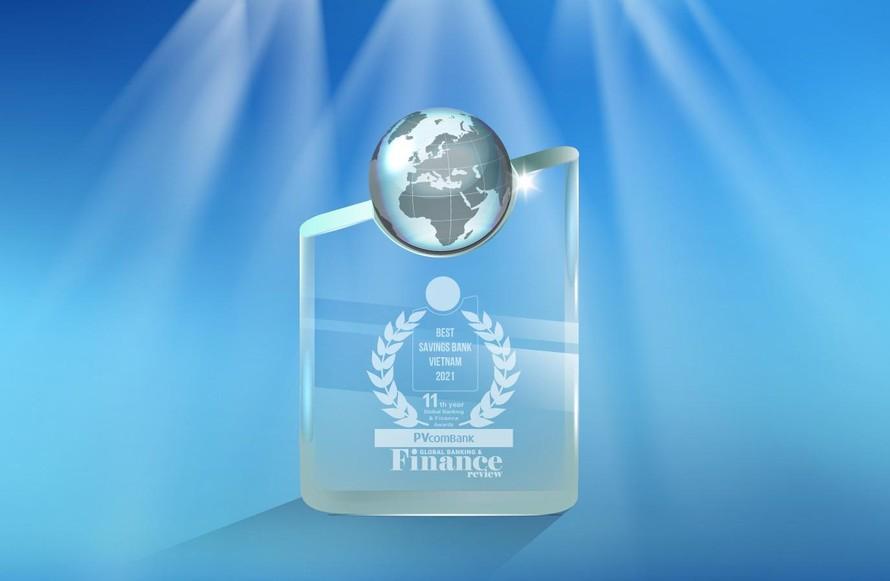 Một trong những giải thưởng danh giá của PVcomBank trong năm 2021.