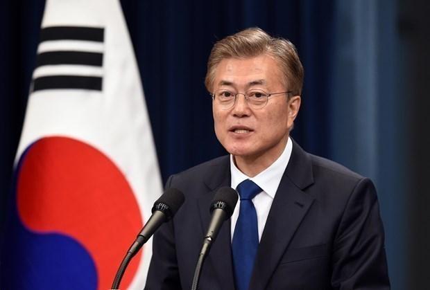 Tổng thống Hàn Quốc Moon Jae-in. (Nguồn: Getty Images)