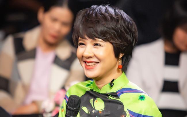 Nhà báo Đặng Thị Diễm Quỳnh, tân Giám đốc Trung tâm Sản xuất phim truyền hình (VFC), Đài Truyền hình Việt Nam. (Ảnh: VTV)
