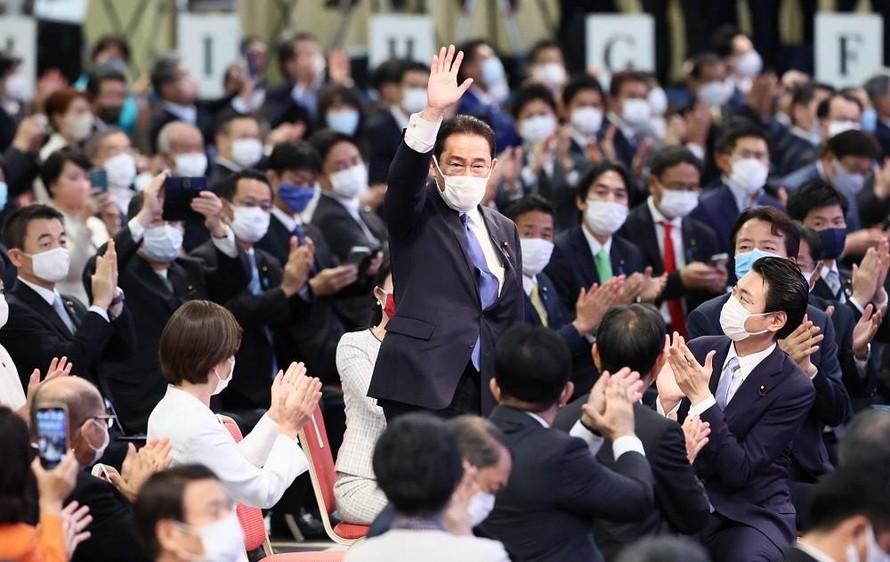 Chiến thắng trong cuộc bầu cử LDP, ông Kishida Fumio trở thành Chủ tịch đảng này và khả năng tiếp quản vị trí Thủ tướng Nhật Bản ngày 4/10 tới. (Nguồn: Japan Forward)
