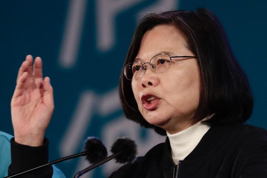 Nhà lãnh đạo Đài Loan Thái Anh Văn. (Ảnh: EPA-EFE)