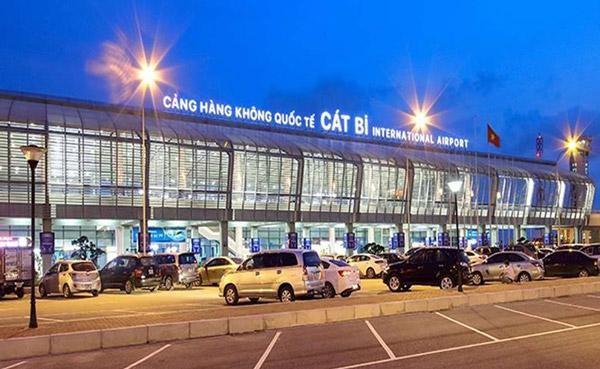 Sân bay quốc tế Cát Bi - Hải Phòng. (Ảnh: Internet)