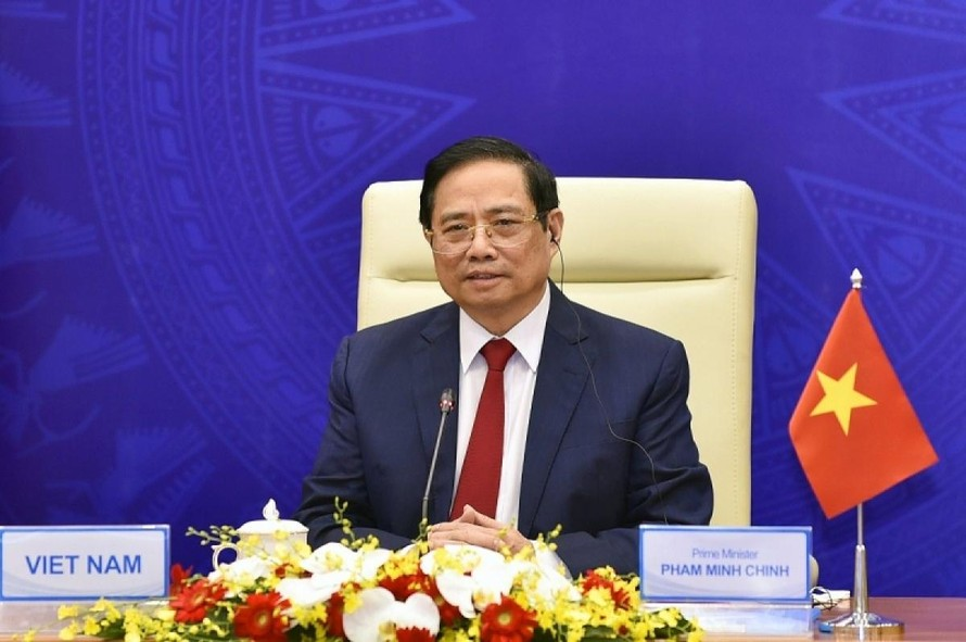Thủ tướng Phạm Minh Chính. (Ảnh: Ảnh: VGP/Nhật Bắc)