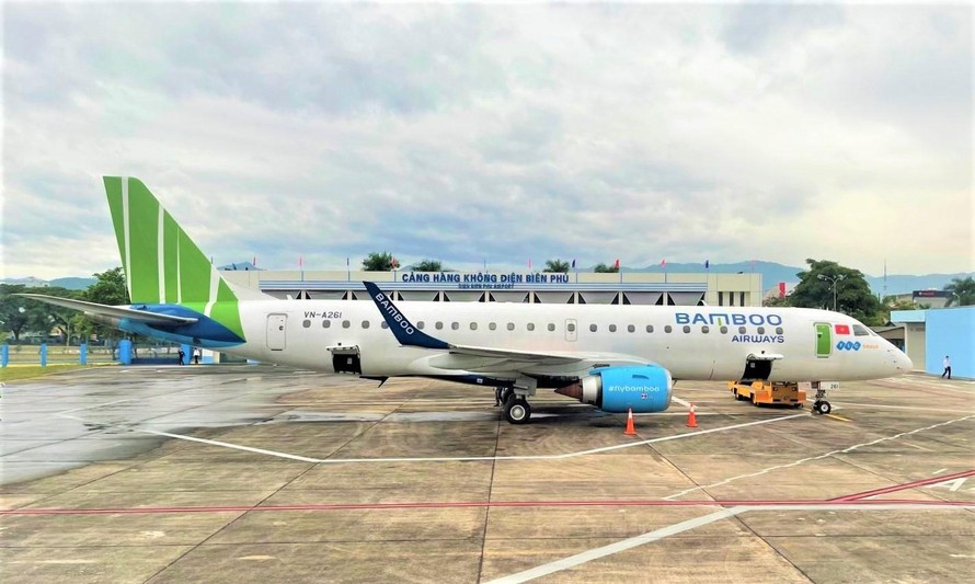 Bamboo Airways khai trương đường bay thẳng Hà Nội/TP HCM - Điện Biên