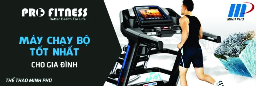 Siêu thị thể thao Minh Phú là đơn vị hàng đầu chuyên cung cấp các dòng sản phẩm máy chạy bộ cao cấp