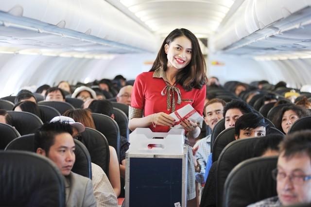 Vietjet tung 500.000 vé bay ngay quốc tế đến hết năm