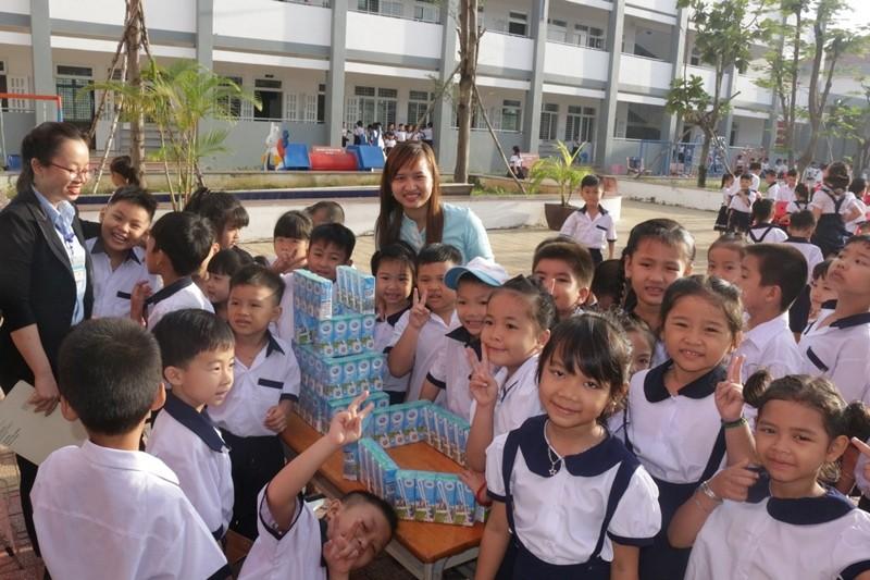 Năm 2018, chương trình sẽ được thực hiện tại các trường ở Hà Nội, Hải Dương, Thái Bình và Thanh Hóa