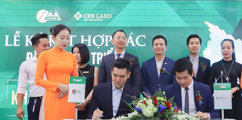 Cenland chính thức trở thành đơn vị đồng đầu tư dự án Khai Sơn Town.