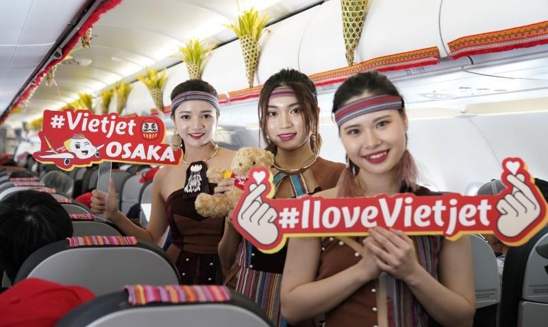 Vietjet khai trương đường bay thẳng đầu tiên đến Nhật Bản 