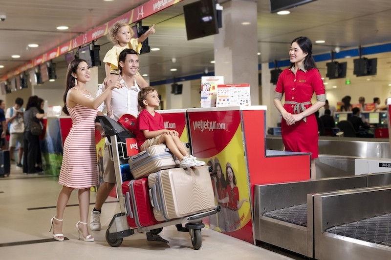 Vietjet siêu khuyến mại, giảm 70% giá vé