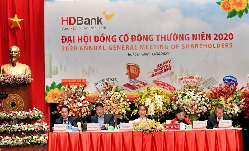 HDBank đặt mục tiêu lợi nhuận trước thuế tăng 13%, đẩy mạnh chuyển đổi số
