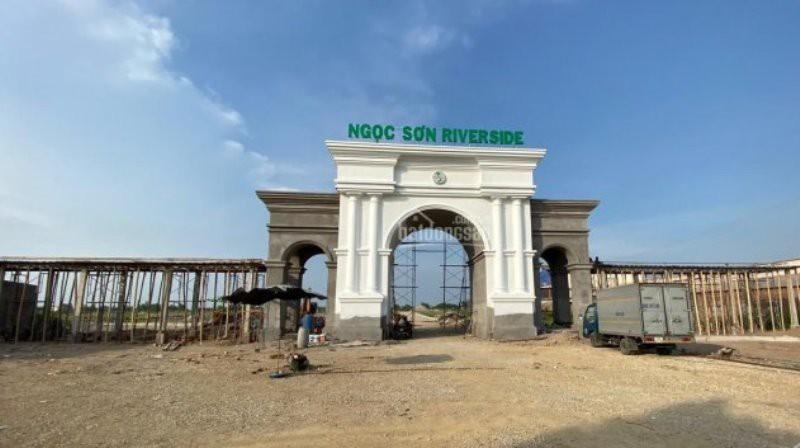 Tiến độ thực tế dự án Ngọc Sơn Riverside Hải Dương.