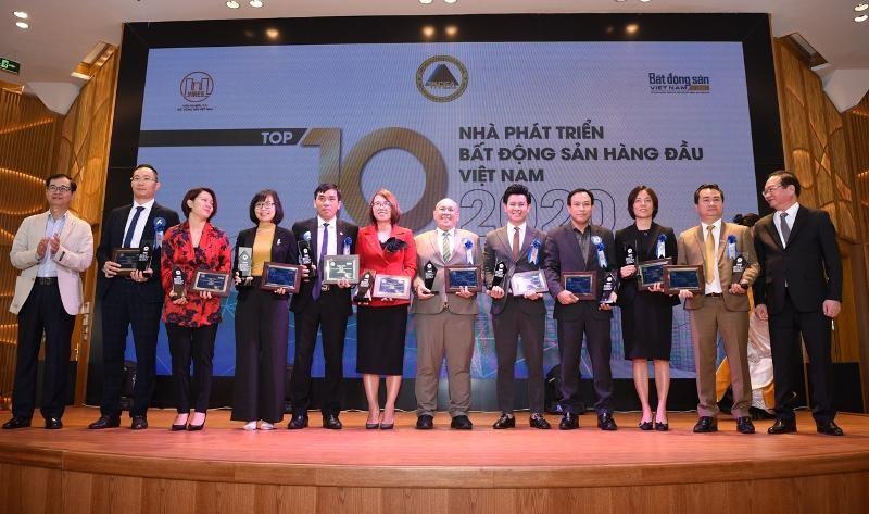 Top 10 nhà phát triển bất động sản hàng đầu Việt Nam 2020,