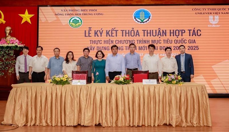 Unilever Việt Nam hợp tác thực hiện chương trình MTQG xây dựng Nông Thôn Mới