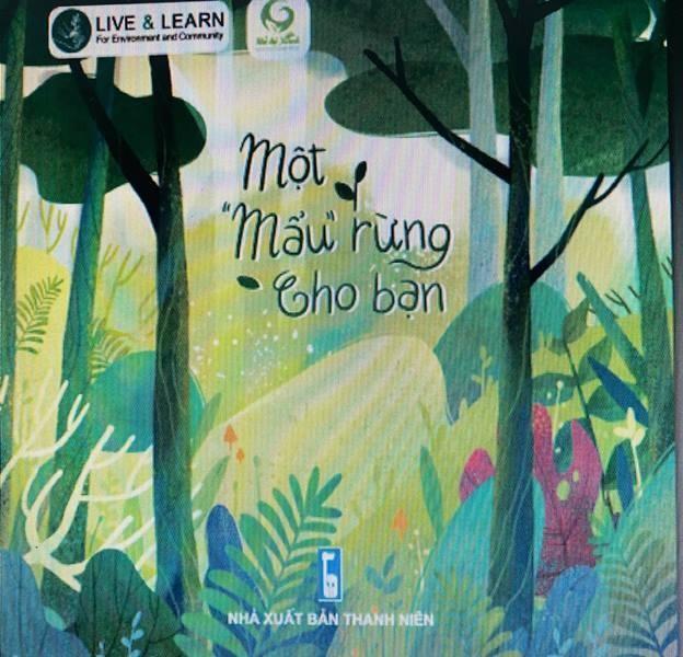 Mỗi cuốn sách được bán sẽ góp 01 cây giống trồng rừng.