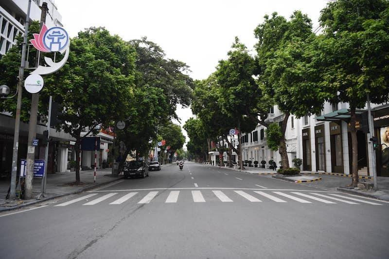 Từ 24/7/2021, TP Hà Nội thực hiện giãn cách xã hội theo tinh thần Chỉ thị 16 của Thủ tướng Chính phủ.