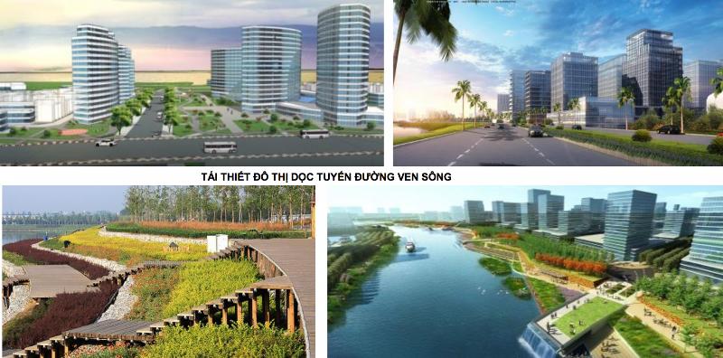 Viện Quy hoạch xây dựng Hà Nội đã tổ chức nghiên cứu lập Quy hoạch phân khu đô thị sông Hồng tỷ lệ 1/5000 (đoạn từ cầu Hồng Hà đến cầu Mễ Sở),