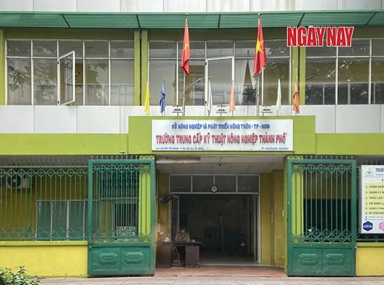 Trường Trung cấp Kỹ thuật Nông nghiệp TP.HCM