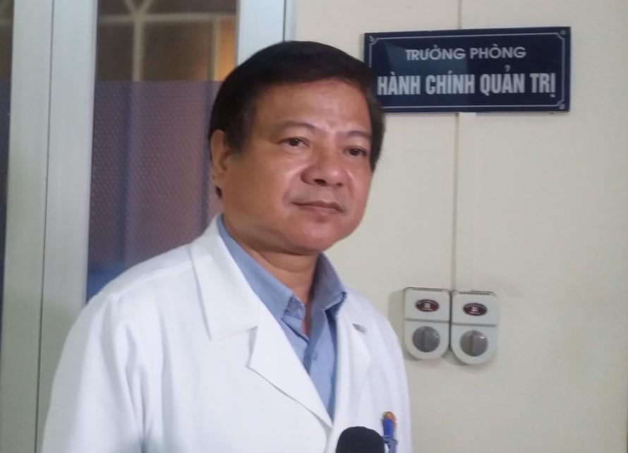 TS Nguyễn Văn Kính - Giám đốc Bệnh viện Bệnh Nhiệt đới Trung ương