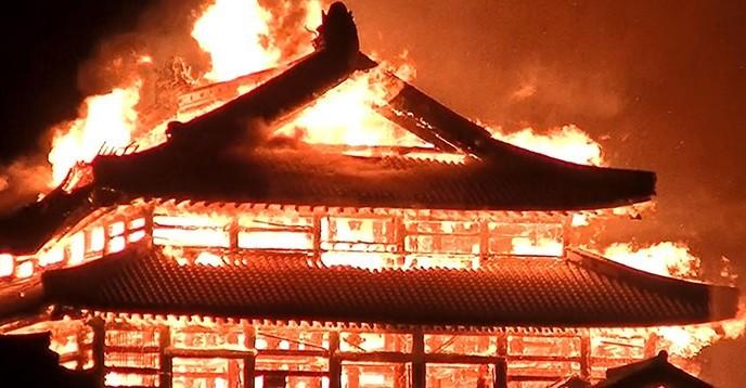 UNESCO chia sẻ về việc Di sản Thế giới ở Okinawa bị lửa tàn phá