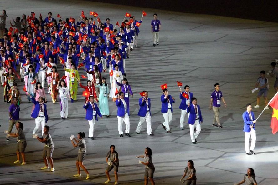 Đoàn thể thao Việt Nam tại SEA Games 30.