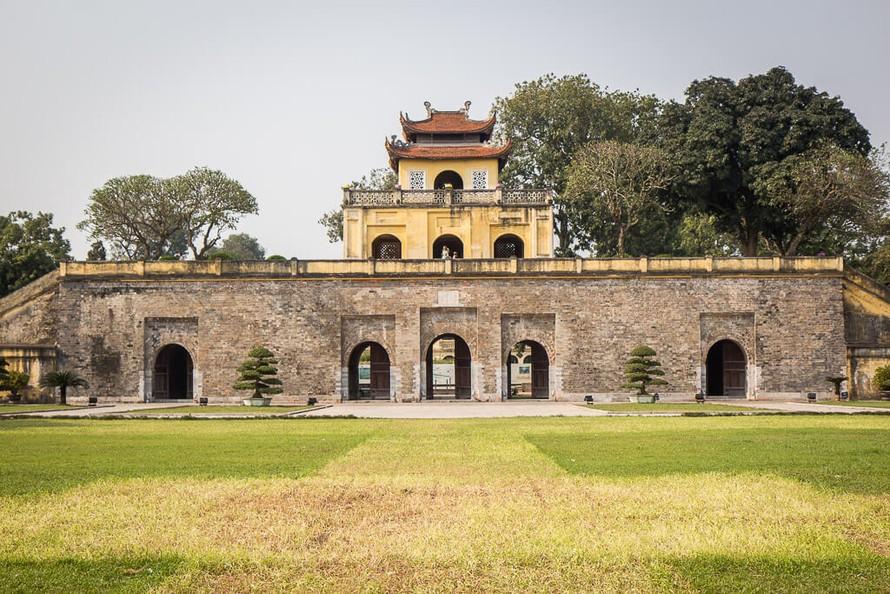 Di tích Hoàng thành Thăng Long.