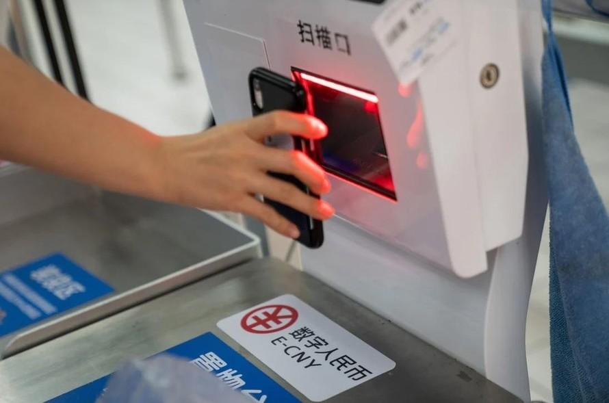 Nỗ lực đẩy nhanh việc phát hành đồng tiền số của Trung Quốc khiến Mỹ lo ngại. (Nguồn: Bloomberg).