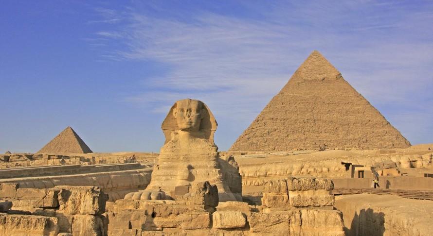 Kim Tự tháp, một di sản thế giới được tái hiện trên tour du lịch ảo của Google.