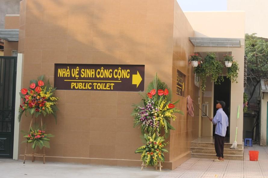 Mô hình nhà vệ sinh xanh- sạch- đẹp phục vụ người bệnh tại Bệnh viện E