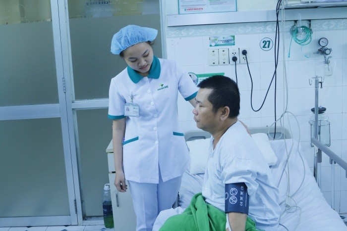 Bệnh nhân Hùng tỉnh lai sau 20 phút chết lâm sàng
