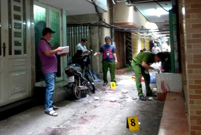 Nam thanh niên bị sát hại giữa trung tâm Sài Gòn