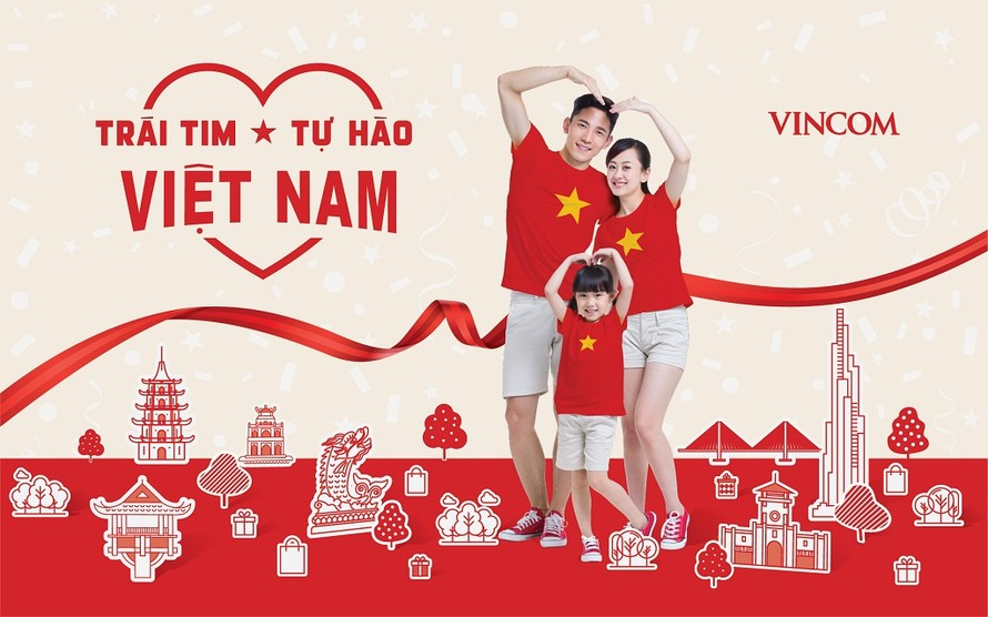"""Chương trình lễ hội """"Trái tim Việt Nam – Tự hào Việt Nam"""" sẽ diễn ra trên toàn hệ thống từ ngày 27/4 – 1/5"""