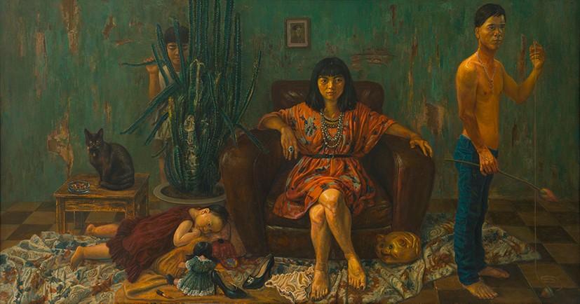 """Tác phẩm """"Nữ hoàng Phương Đông"""" của Vũ Ngọc Vĩnh"""