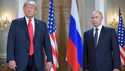 Tổng thống Mỹ Trump, Tổng thống Nga Putin