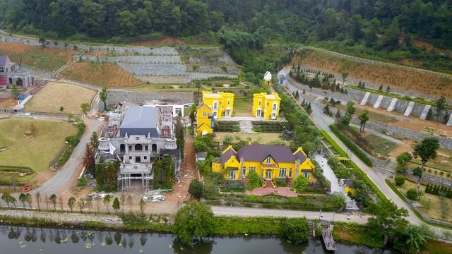 Những công trình nằm trên diện tích đất rừng Sóc Sơn vẫn còn