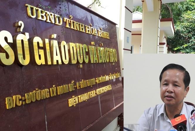 Giám đốc Sở Giáo dục và Đào tạo Hòa Bình xin nghỉ chữa bệnh