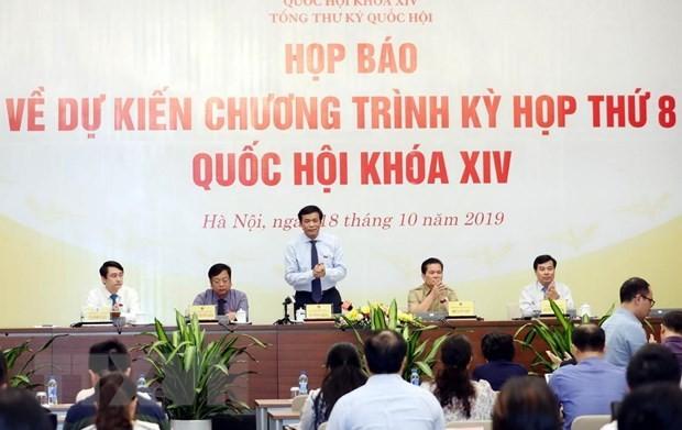 Kỳ họp thứ 8, Quốc hội khóa XIV sẽ ứng dụng công nghệ tiên tiến
