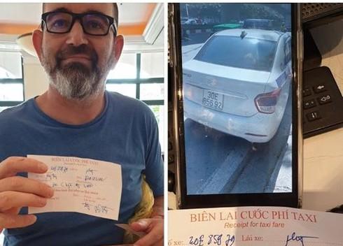 Thực hư taxi Thanh Nga chặt chém khách Tây ở Hà Nội gây hoang mang dư luận?