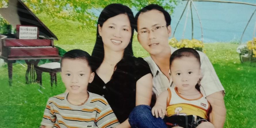 Gia đình hạnh phúc của bé Đức Trọng (Ảnh Gia đình cung cấp)
