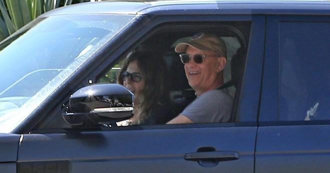 Vợ chồng Tom Hanks và Rita Wilson