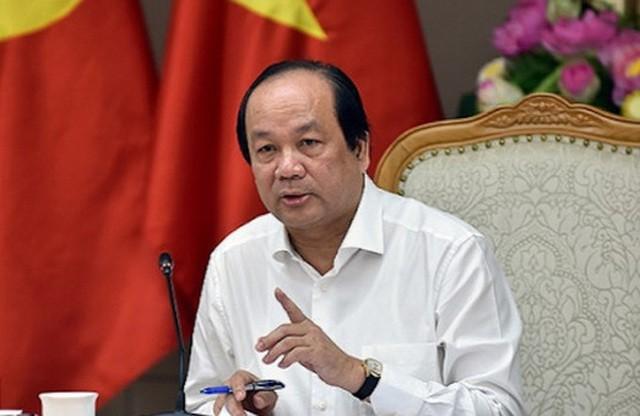 Bộ trưởng, Chủ nhiệm Văn phòng Chính phủ Mai Tiến Dũng giải thích các nội dung trong Chỉ thị 15 của Thủ tướng.
