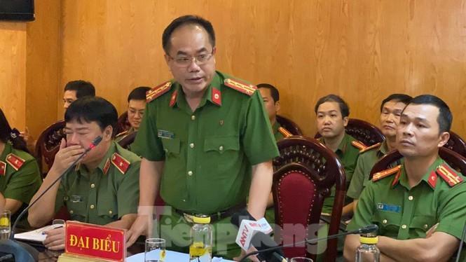 Đại tá Nguyễn Thanh Tùng thông tin ngày 25/6.