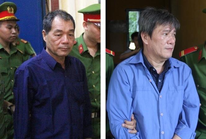 Trầm Bê và Dương Thanh Cường đối diện 'án chồng án'. Ảnh: Tân Châu.