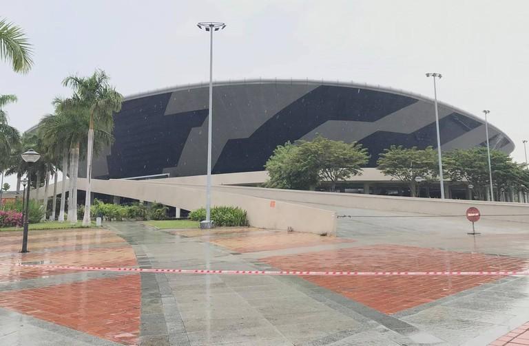 Cung Thể thao Tiên Sơn ở Đà Nẵng thành bệnh viện dã chiến