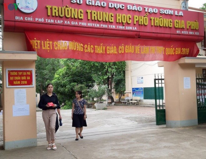 Kỳ thi tốt nghiệp THPT năm nay, tỉnh Sơn La có hơn 11.600 thí sinh đăng ký dự thi ở 33 điểm thi, với hơn 510 phòng thi ở 12 huyện, thành phố. Ảnh: VOV.