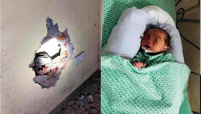 Người mẹ nhẫn tâm vứt con trong khe tường là một sinh viên