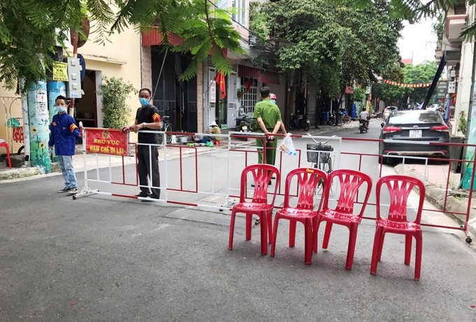 Tổ dân phố Hạnh Phúc, phường Hải Sơn đã được quận Đồ Sơn phong tỏa