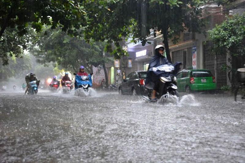 Miền Trung vẫn mưa lớn